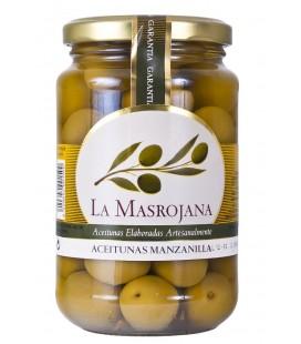 La Masrojana Manzanilla-Oliven mit Stein, 220g