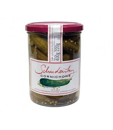 Schudeisky Cornichons süß & sauer, 435 ml
